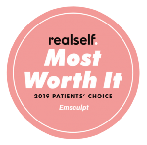 EMSCULPT RealSelf Most Worth It 2019 Patients' Choice